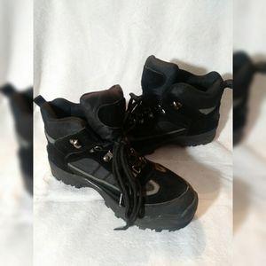Mens Itasca Brazil Black Hiking Boot sz 8